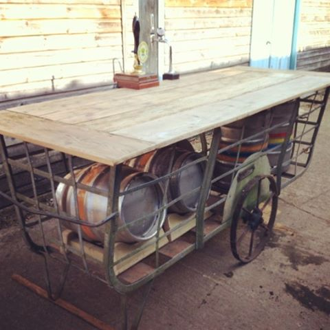 Hay Cart Bar